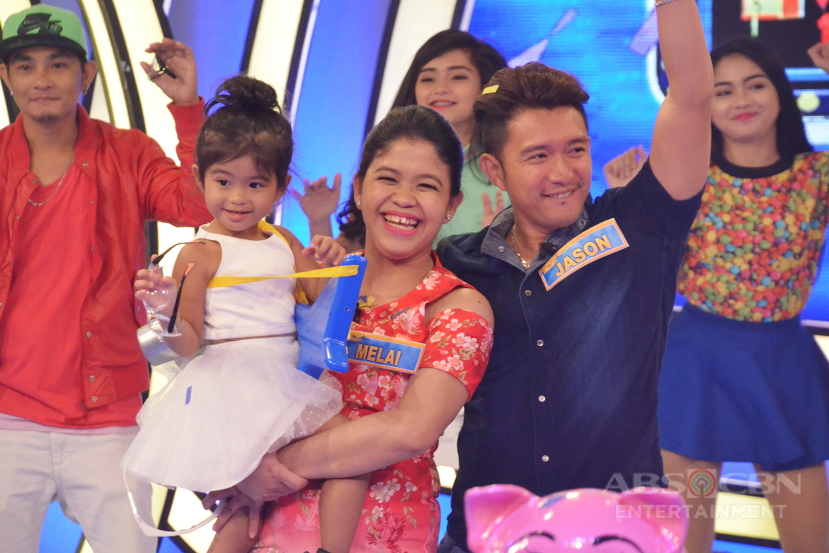 Bet On Your Baby: Jackpot round with daddy Jason, mommy Melai and baby Mela