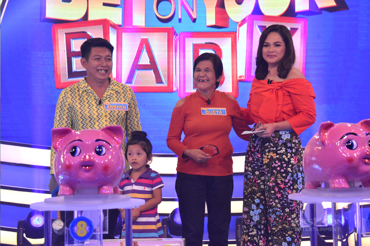Bet On Your Baby: Jackpot round with Daddy Arbhen, Lola Queta and Baby Miki