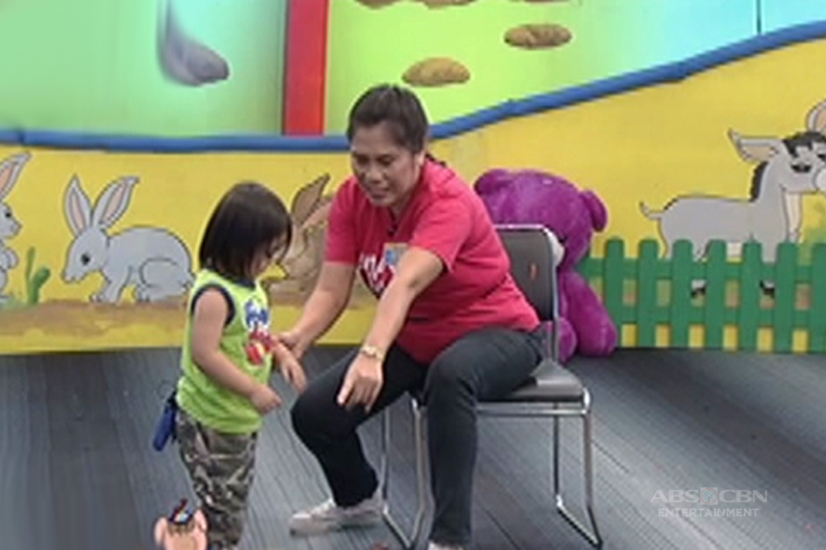 Bet On Your Baby Babydome challenge with Mommy Angie baby Jeboy