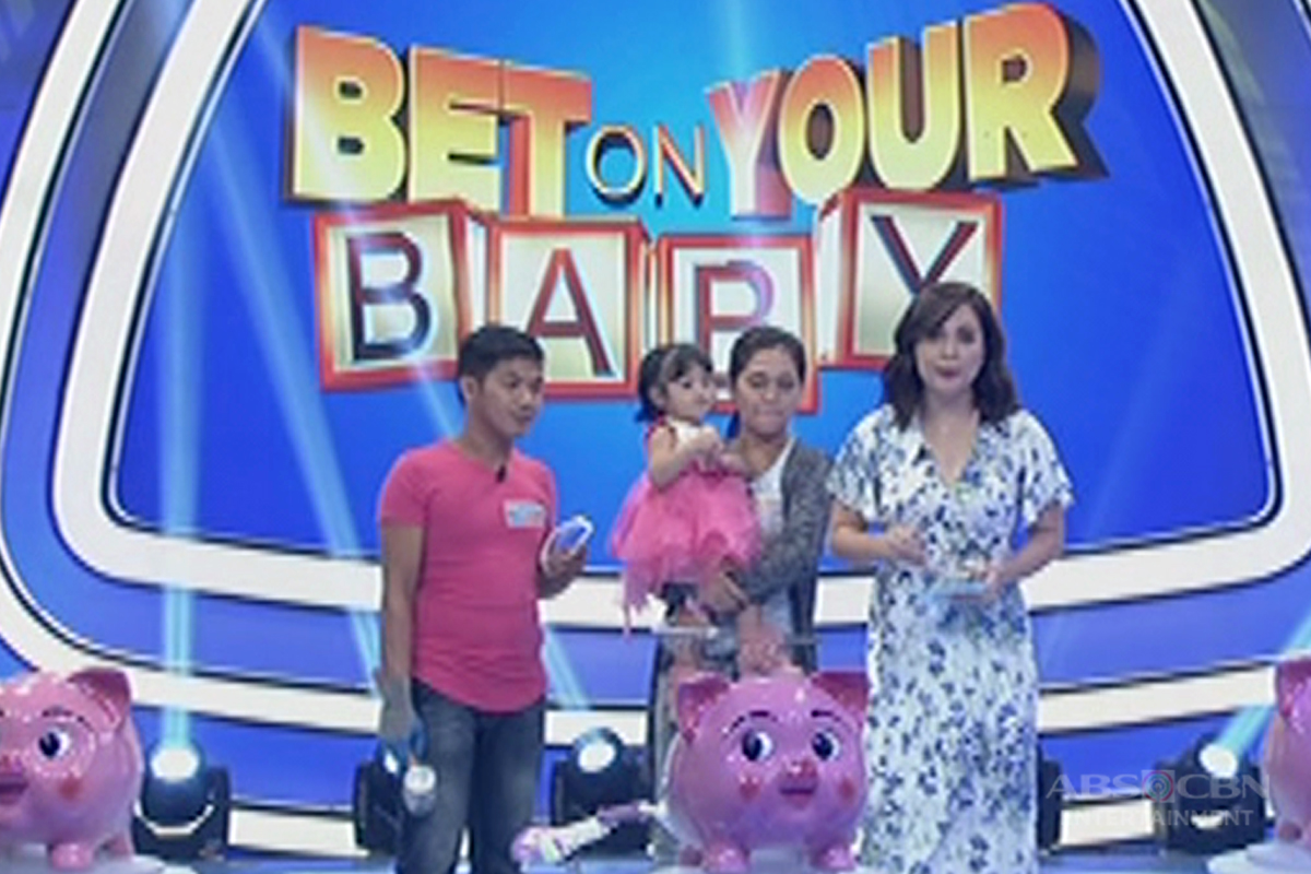 Bet On Your Baby: Jackpot round with daddy Cris, mommy Lady and baby Cassy