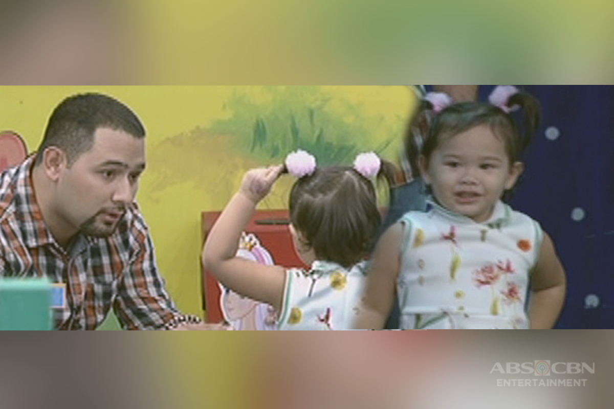 Bet On Your Baby: Babydome challenge with daddy Rico and baby Stella