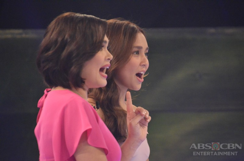 Mara Meets Mara: Juday And Kathryn On The Set Of Bet On Your Baby