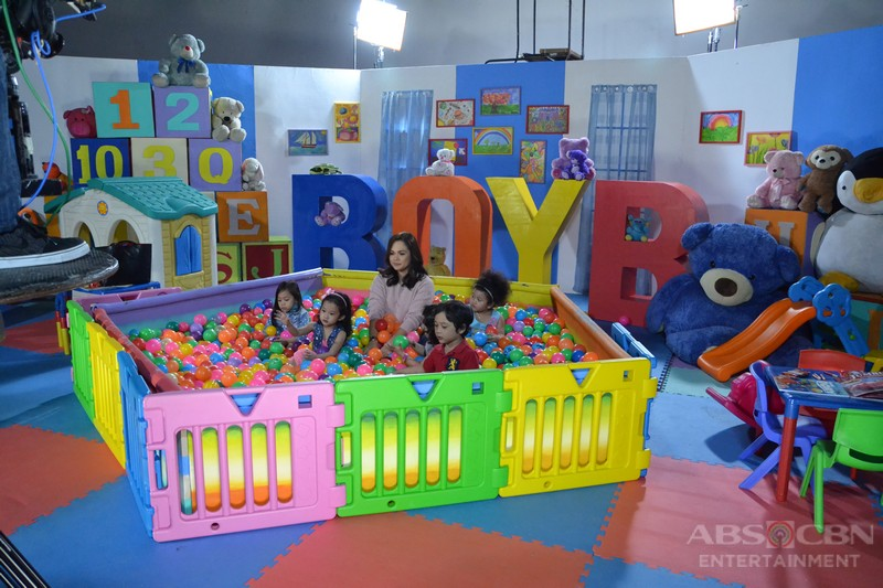 BEHIND-THE-SCENES: Juday's kulitan moments with the kids at the Bet On Your Baby Promo Shoot