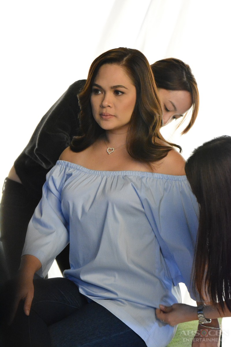 Behind-the-scenes: Bet On Your Baby Photo Shoot with Judy Ann