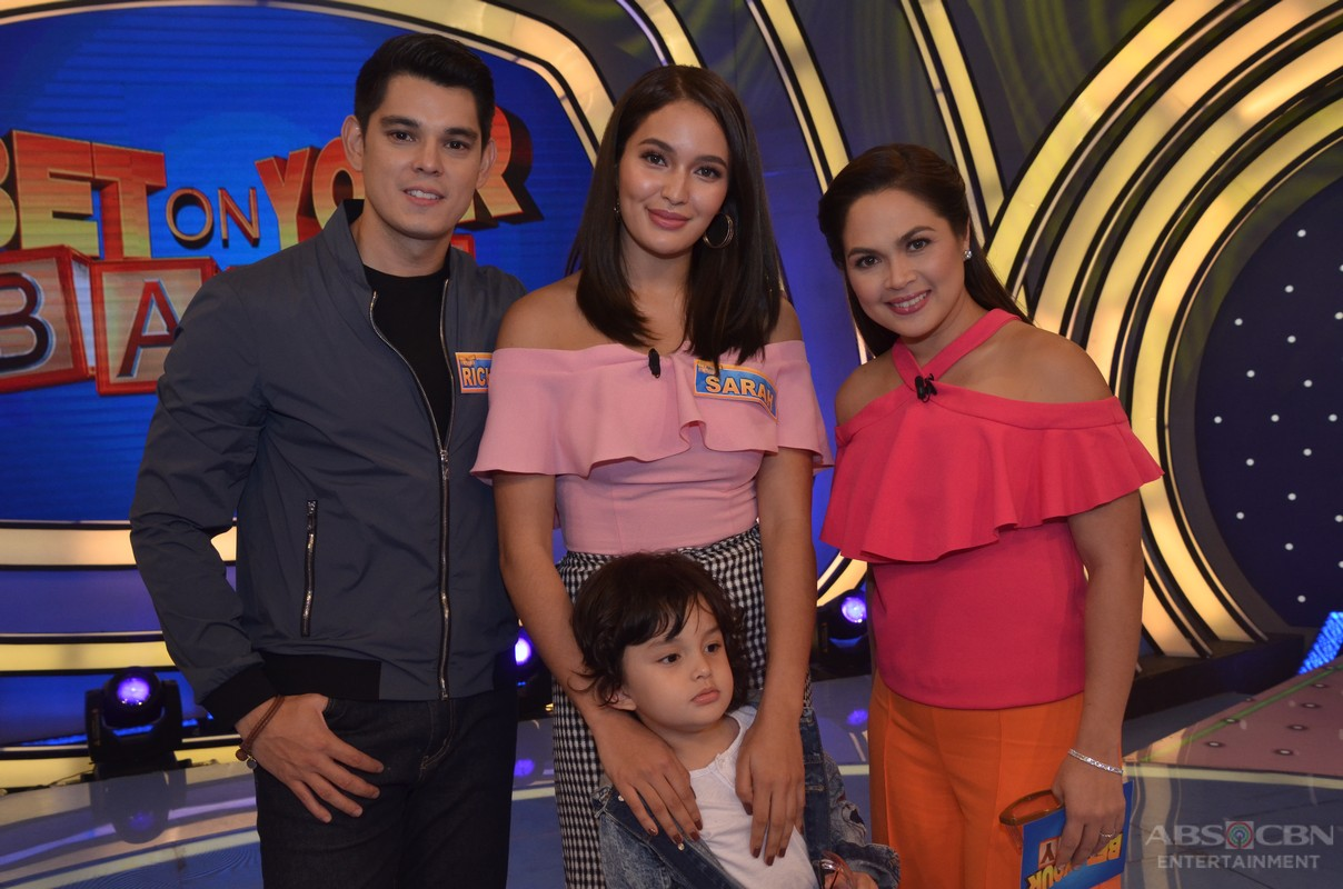 Backstage Photos: Richard, Sarah and Zion on Bet On Your Baby