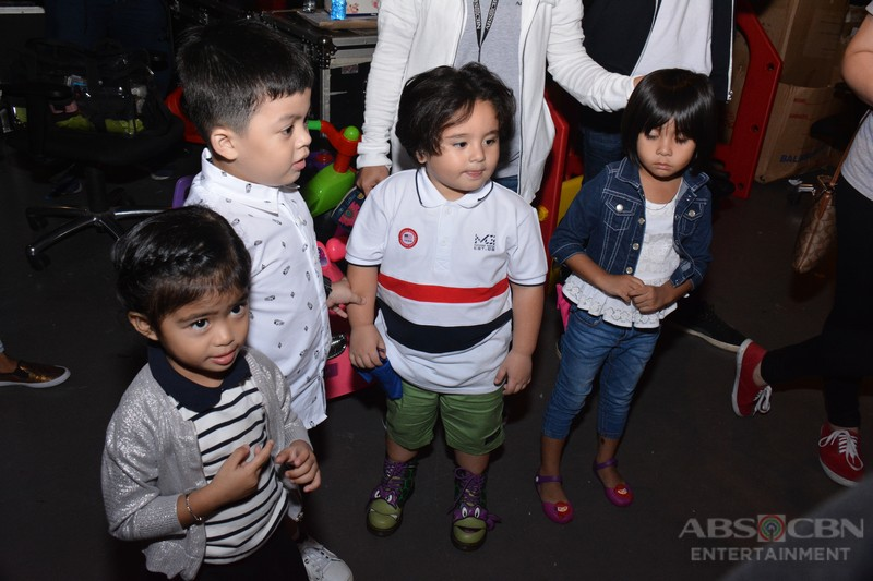 Behind-the-scenes: Judy Ann with Watchamakulit kids