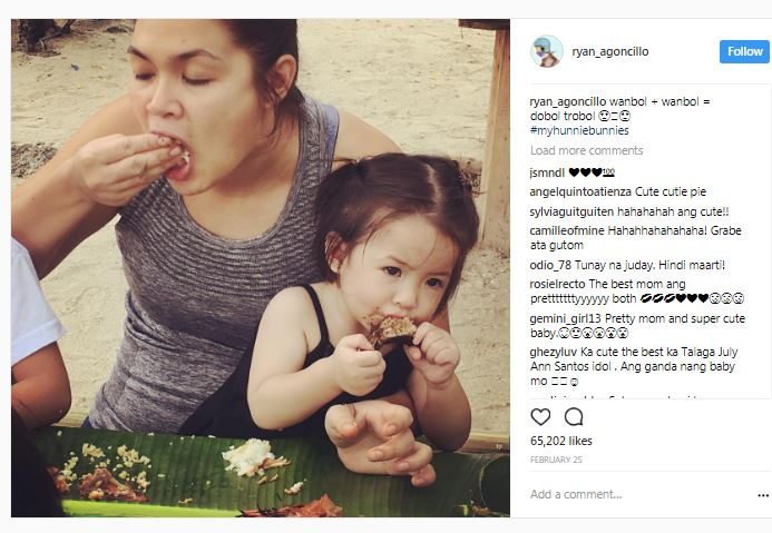 Juday's Baby Luna is taking over the internet with her adorable photos!