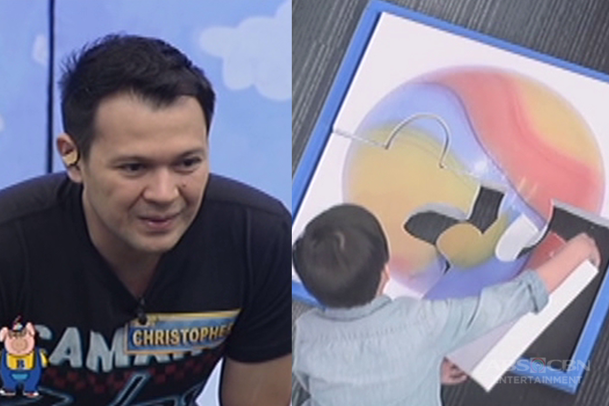 """Bet On Your Baby: Babydome Challenge With Daddy Christopher And Baby Grant"""